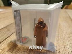 Vintage Star Wars HK Jawa Vinyl Cape UKG Not AFA 90/85/85 Archival Grail item