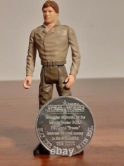 Vintage Star Wars Han Solo in Carbonite Power Of The Force Recard 1985 Last 17