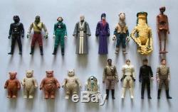 Vintage Star Wars Incomplete POTF Last 17 Action Figures Choose Your Own