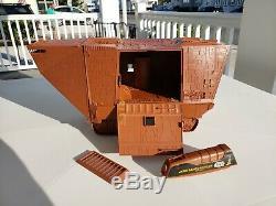 Vintage Star Wars Jawa Radio Controlled Sandcrawler WORKS! 1979 Kenner