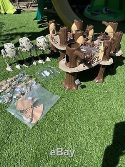 Vintage Star Wars Joblot Bundle, 3 X Ewok Village Complete, Ewoks, Scout Walkers