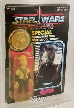 Vintage Star Wars Kenner 1984 POTF 92 Power of the Force Yak Face MOC