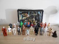 Vintage Star Wars Kenner Lot First 12-21 Collectors Case Complete 1977