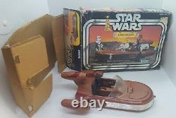 Vintage Star Wars Landspeeder Complete 1978 Original Box Working Kenner MINT
