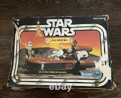 Vintage Star Wars Landspeeder Open Bonnet Boxed Kenner