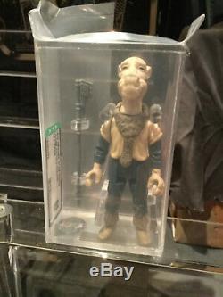 Vintage Star Wars Last 17 Potf Yak Face Afa 85 (new Laser-cut Case!)