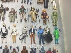 Vintage Star Wars Lot of 103 Loose Figures Includes Last 17 Variants & More