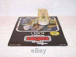Vintage Star Wars Mint On Card Die Cast Slave 1, Kenner #39670, Beautiful