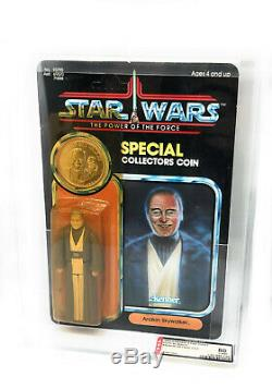 Vintage Star Wars POTF ANAKIN / Last 17 MOC AFA UKG 80 subs 80/85/90