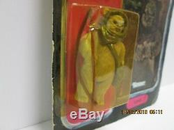 Vintage Star Wars POTF LUMAT LAST 17 Carded Action Figure 92 Back EWOK COIN