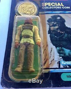 Vintage Star Wars Power Of The Force Nikto Moc Unp. 1984 Australian Toltoys