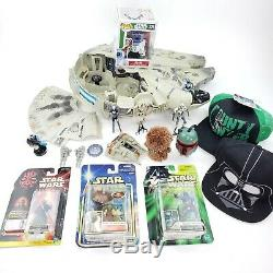 Vintage Star Wars Power of The Force Lot Figures Vehicle Carded Loose Collection
