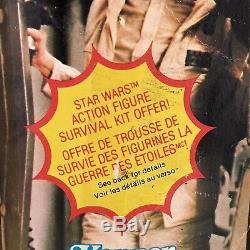 Vintage Star Wars Princess Leia Hoth Canadian 41-Back MOC Survival Offer