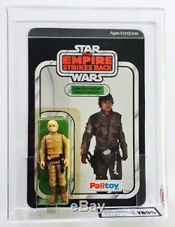 Vintage Star Wars Rare ESB Palitoy 30 Back Luke Bespin Moc UKG Y85