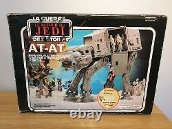 Vintage Star Wars Return Of The Jedi AT AT Walker Complete Boxed + Instructions