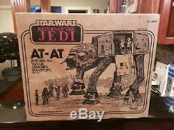 Vintage Star Wars Return Of The Jedi Endor At-at Fully Sealed Never Opened
