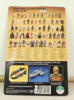Vintage Star Wars Return Of The Jedi ROTJ 65 Back Boba Fett