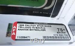 Vintage Star Wars Rotj Last 17 Trilogo Anakin Skywalker Afa 75+ (75/80/85) Moc