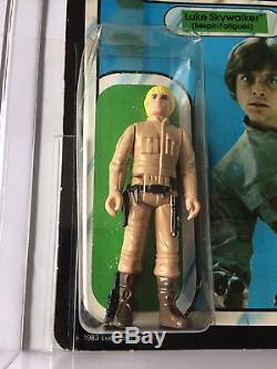 Vintage Star Wars Rotj Luke Bespin Dark Boots Pbp Afa 75 (75/70/80) Moc Rare