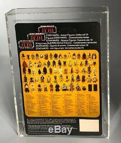 Vintage Star Wars Rotj Trilogo Last 17 Han Carbonite Afa 85 (85/85/90) Moc Up