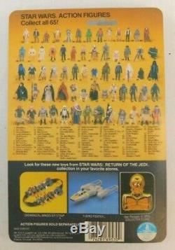 Vintage Star Wars Short Mouth Biker Scout 1983 LILI Ledy