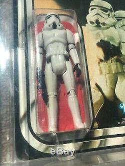Vintage Star Wars Stormtrooper 20 Back AFA Graded 60 Kenner 1978