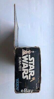 Vintage Star Wars Toltoys Boba Fett Large Size Action Figure Kenner