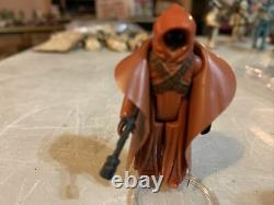 Vintage Star Wars Vinyl Caped Jawa Complete/ Authentic