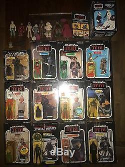 Vintage Star Wars collection mint