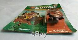 Vintage kenner star wars ewoks cartoon Wicket W. Warrick, unpunched /mexico