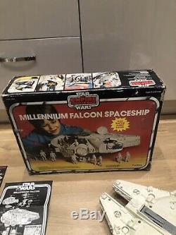 Vintage star wars millenium falcon Palitoy