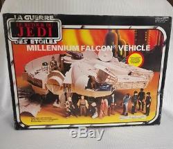 Vintage star wars millenium falcon boxed kenner
