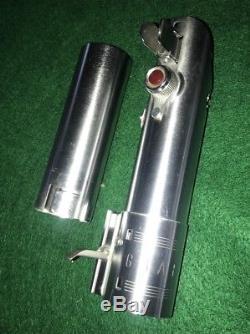 Vtg. Graflex 3 Cell Flash Handle Lightsaber StarWars Luke Skywalker Red button