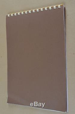 Vtg Jim Henson Brian Froud Dark Crystal Photo Album Press Release Program Kit