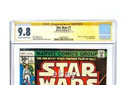 Vtg Star Wars #1 (Jul 1977, Marvel) CGC Signature Series Roy Thomas