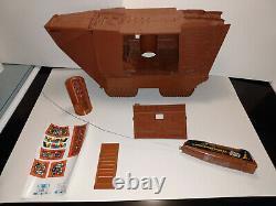 WORKING STAR WARS Radio Controlled Remote Jawa Sandcrawler Complete VTG Kenner