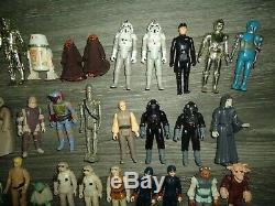 100% D'origine Star Wars Armes Figure D'action Kenner Beaucoup Vintage