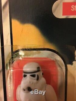 1977 Star Wars Stormtrooper 12 Retour D'action Vintage Figure Moc Mip Kenner
