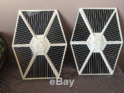 1977 Star Wars Tie Fighter Navire Vintage Kenner Avec Boîte Et Instructions Look
