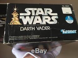 1977 Vintage Kenner Star Wars Darth Vader 15 Cas Acrylique Scellé Par Usine Misb