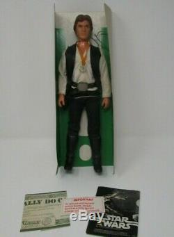 1978 Han Solo Star Wars Vintage 12 De Grande Taille Action Figure Nrfb