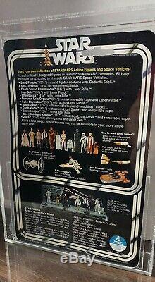 1978 Star Wars 12 Retour Bulle Clair C C3po Cas 75+ 80 85 Kenner Cru Afa