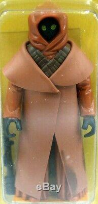 1978 Vintage Wars Kenner Étoiles 12 Back-a Jawa Vinyliques Cap Action Figure Afa 7