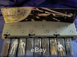1978 Wars Vintage 12 Première Étoile Complète Afa Graded Leia R2 Vader