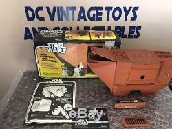 1979 1979 Radio Contrôlée Par Star Wars Jawa Sandcrawler Dans La Boîte Originale Fonctionnant