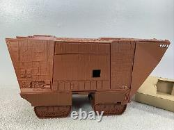 1980 Kenner Star Wars Crawler Jawa Sand Avec Télécommande Empire Box Cib Lire