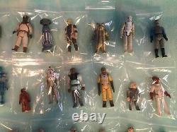 1980 Star Wars Esb Rotj Énorme Lot 40 Guys! Vintage Chiffres Kenner Originaux