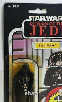 1983 Kenner Star Wars Vintage Rotj Darth Vader 77 Retour B Moc Bateau Libre
