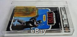 1983 Vintage Star Wars Rotj Retour Du Jedi Boba Fett 77 Retour Afa 70 Cardé Moc
