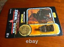 1984 Star Wars Potf Pièce Jawa Vintage Kenner Moc Bubble Jaune